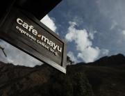 Cafe Mayu Ollantaytambo Sign
