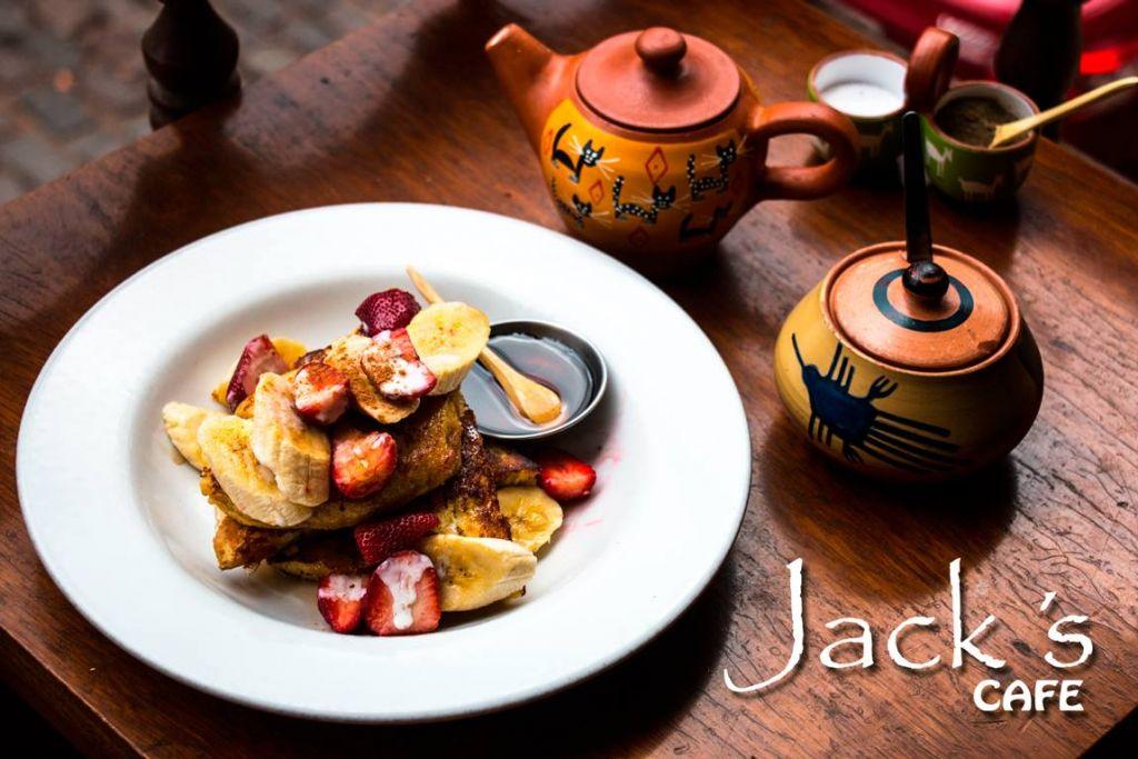 Jack's Cafe Cusco Healthy Breakfast