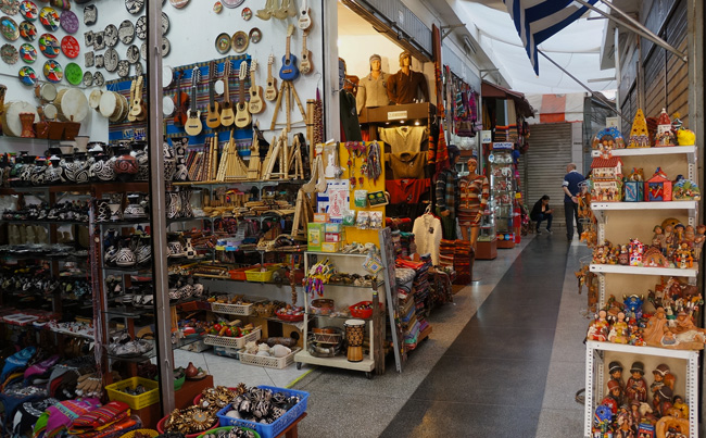 Mercado Indio Lima - Shopping at the Indian Market in Miraflores