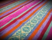 Colourful frazada Puskana Wasi Textile Store Pisac